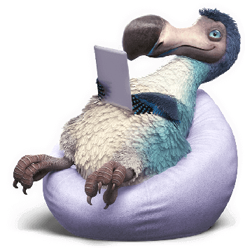 dodo bean bag